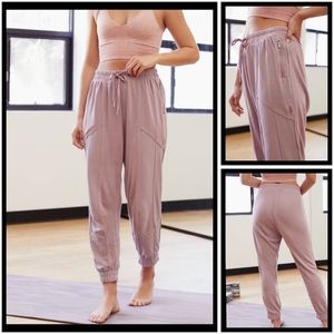 Free People Trekking Out Jogger Pants M